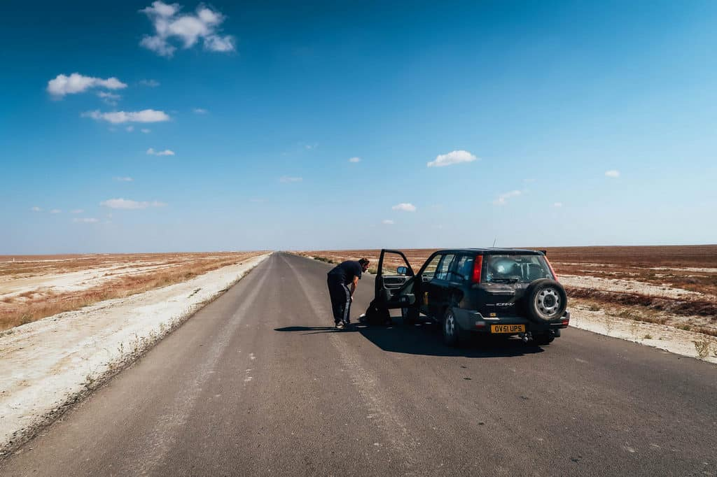 Driving from Europe to Asia - Driving in Kazakhstan - Road trip through Kazakhstan - Journal of Nomads