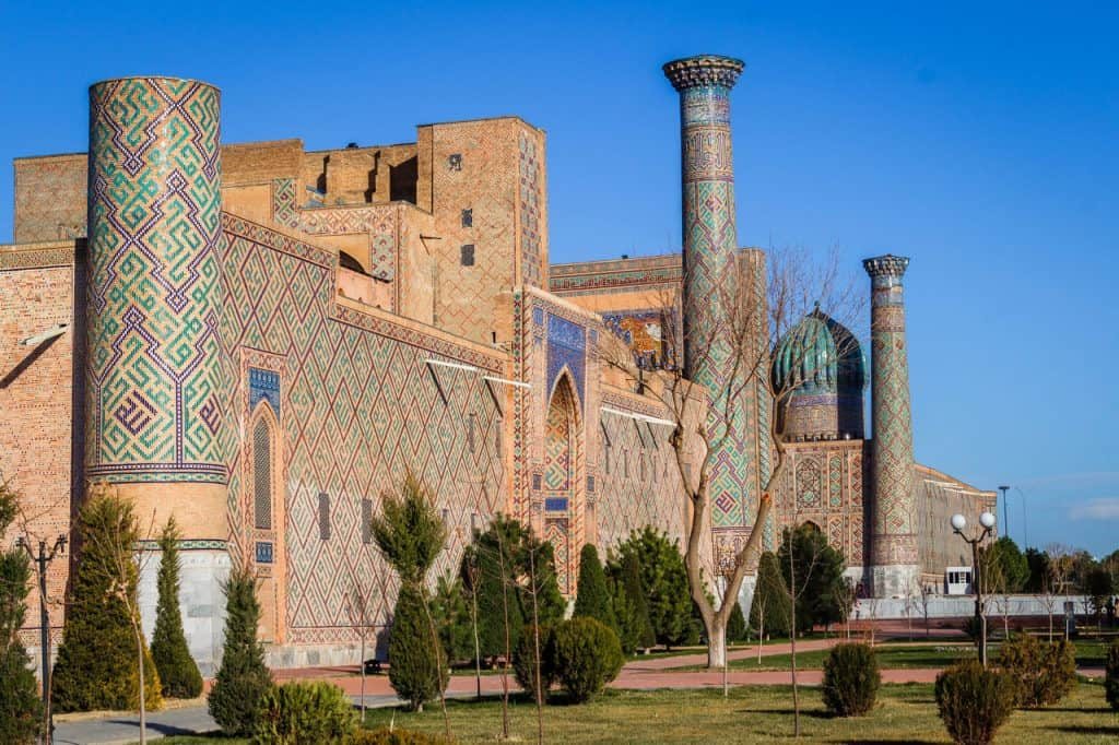 Backpacking to Uzbekistan - Everything you need to know - Samarkand - Journal of Nomads