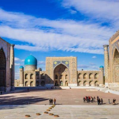 Backpacking to Uzbekistan - Everything you need to know - Samarkand - Registan - Journal of Nomads