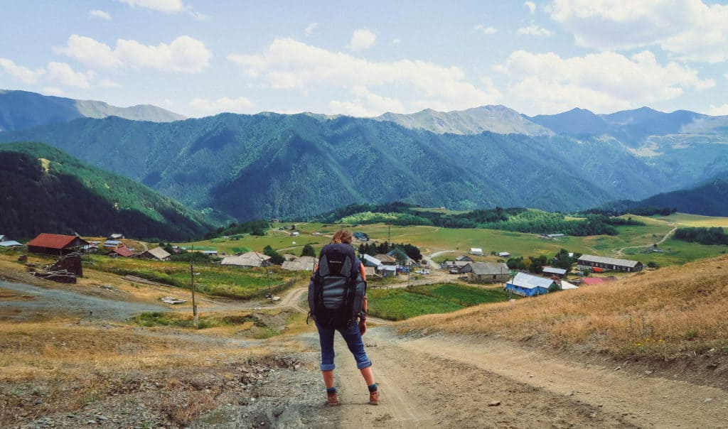 Backpacking in Georgia - everything you need to know - Journal of Nomads - hiking in the mountains