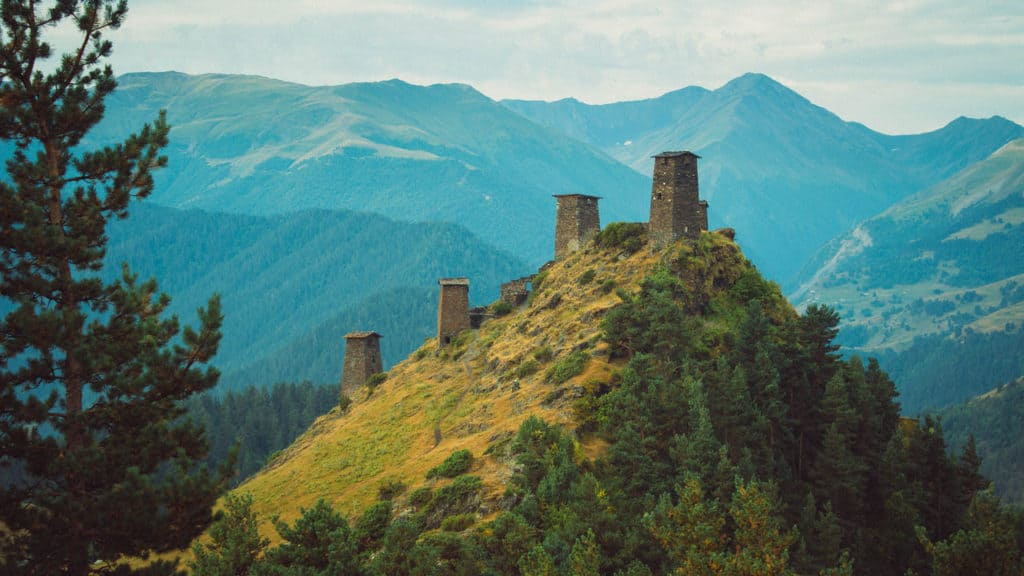 Backpacking in Georgia - everything you need to know - Journal of Nomads - ancients settlements in Tusheti
