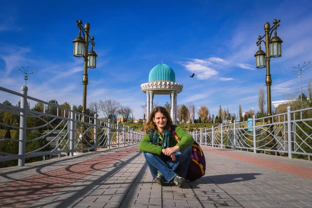Solo female travel Uzbekistan - traveling as a woman alone in Uzbekistan