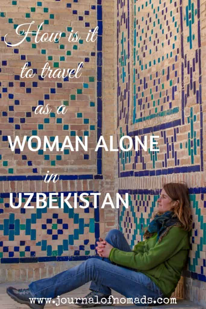solo female travel Uzbekistan - Journal of Nomads