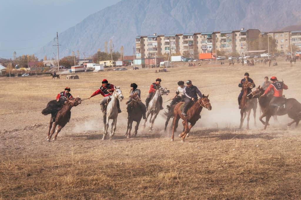 Kok Boru - Dead Goat Polo - National Sport Kyrgyzstan - Central Asia - Journal of Nomads