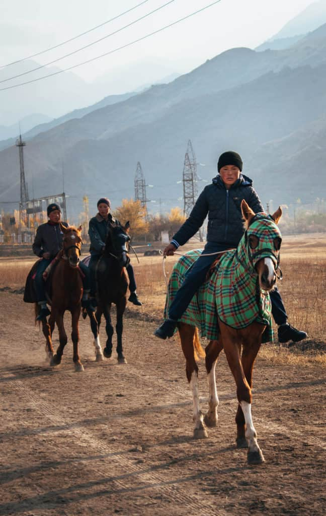 Kok Boru - Dead Goat Polo - National Sport Kyrgyzstan - Central Asia - Journal of Nomads