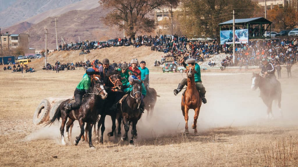 Ready Steady Goat! An insight into Kok Boru (Dead Goat Polo), the unusual National Sport of Kyrgyzstan