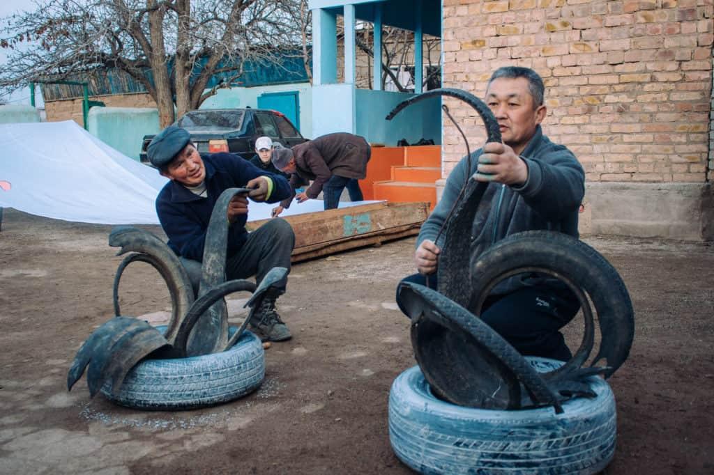 Decorations for Nowruz - Celebrating Nowruz in Kyrgyzstan - Journal of Nomads