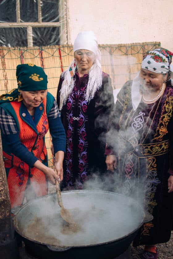 Sumalak - food on Nowruz - Celebrating Nowruz in Kyrgyzstan - Journal of Nomads