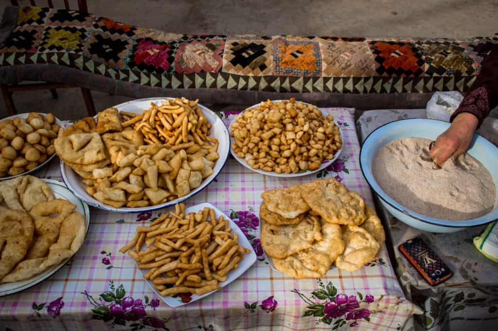 Borsok - fried bread in Kyrgyzstan - Journal of Nomads