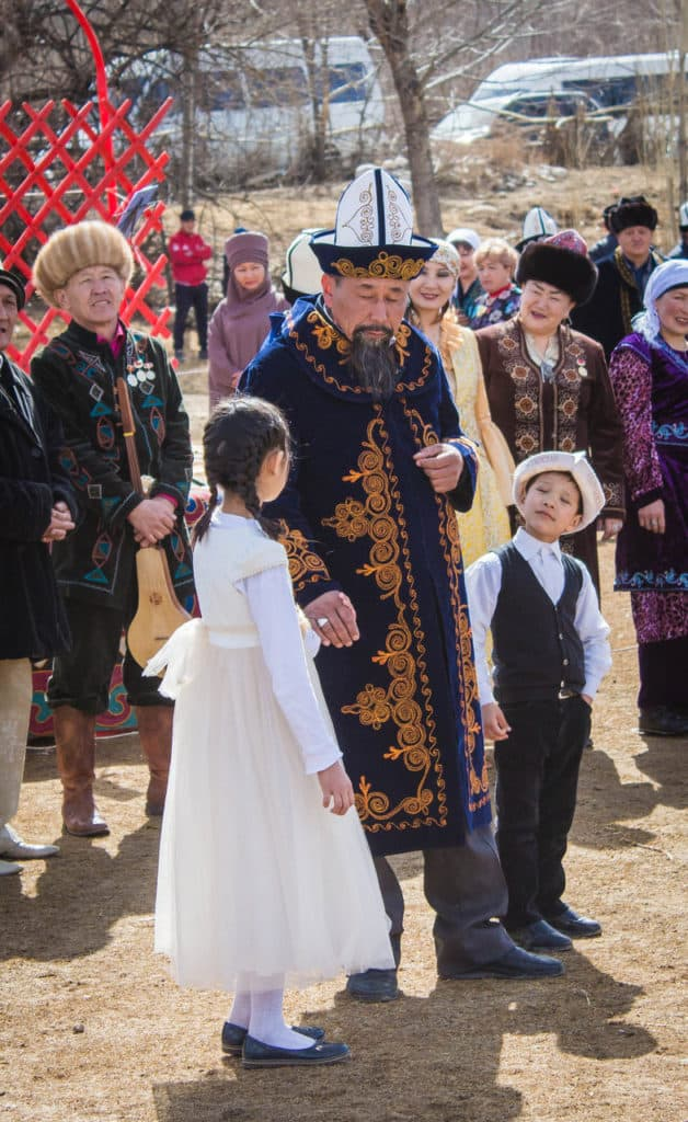 Traditional clothes for man in Kyrgyzstan - Celebrating Nowruz in Kyrgyzstan - Journal of Nomads