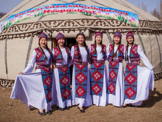 Tradition clothes for women in Kyrgyzstan - Celebrating Nowruz in Kyrgyzstan - Journal of Nomads