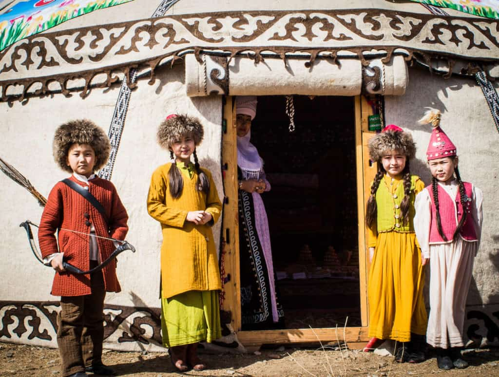 Yurt - Traditional clothes of Kyrgyzstan - National Games Festival in Kyrgyzstan - Nowruz in Kyrgyzstan - Journal of Nomads