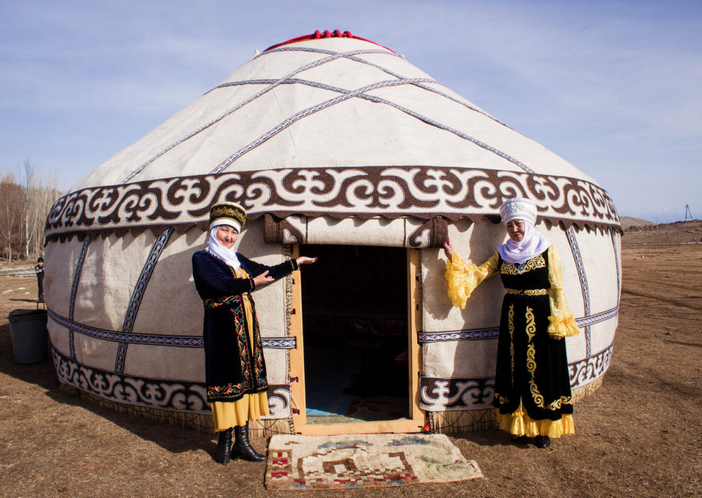 Yurt in Kyrgyzstan - National Games Festival in Kyrgyzstan - Nowruz in Kyrgyzstan - Journal of Nomads
