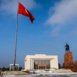 How to get from Bishkek to Almaty : crossing the Kyrgyzstan – Kazakhstan border.