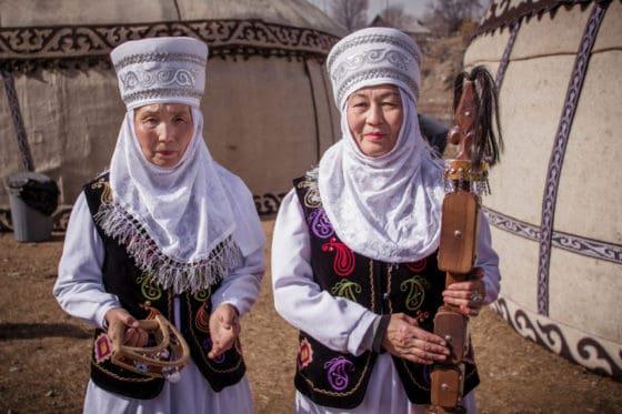 Kyrgyz women - National Games Festival in Kyrgyzstan - Nowruz in Kyrgyzstan - Journal of Nomads