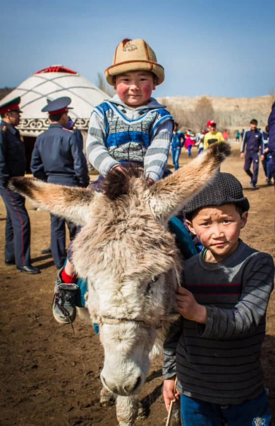 Young Kyrgyz boys - National Games Festival in Kyrgyzstan - Nowruz in Kyrgyzstan - Journal of Nomads