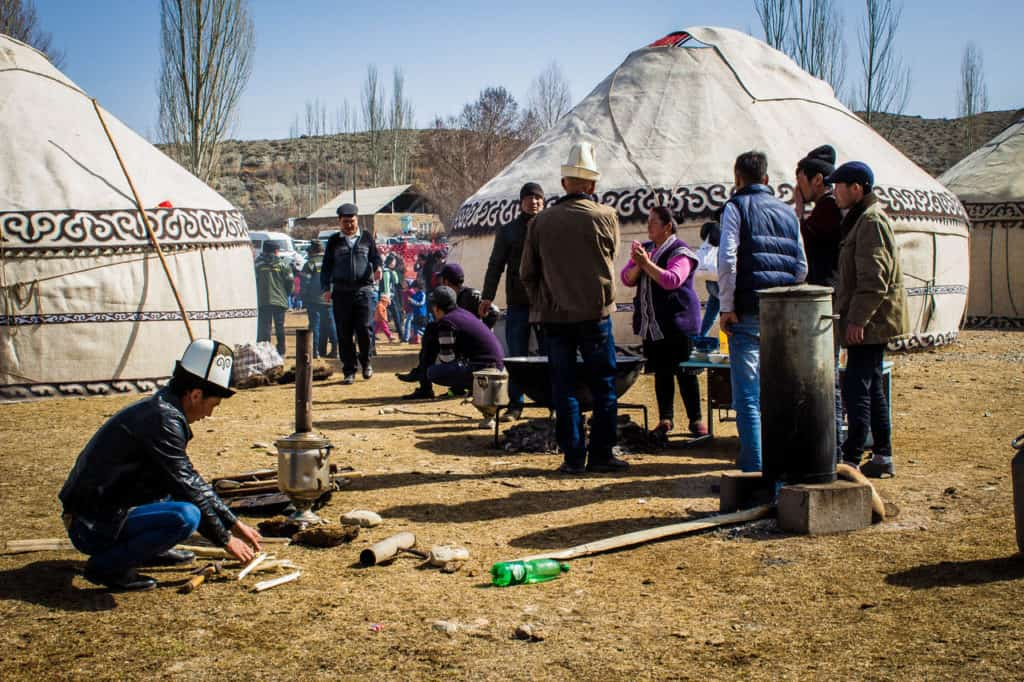 National Games Festival in Kyrgyzstan - Nowruz in Kyrgyzstan - Journal of Nomads