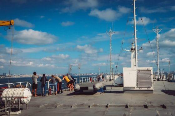 Crossing the Caspian Sea by boat – How to travel by cargo ship from Baku (Azerbaijan) to Aktau (Kazakhstan)