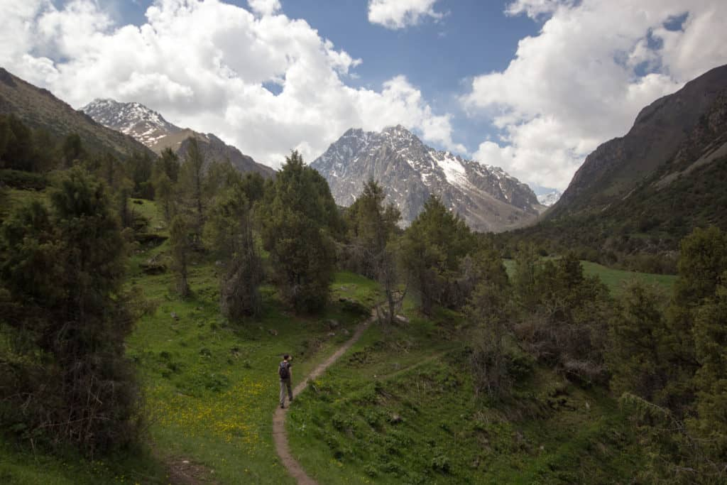 Things to do around Bishkek - hiking in Issyk-Ata - photo by Stephen Lioy - Journal of Nomads