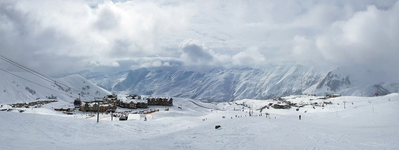 Gudauri Ski Resort in Georgia