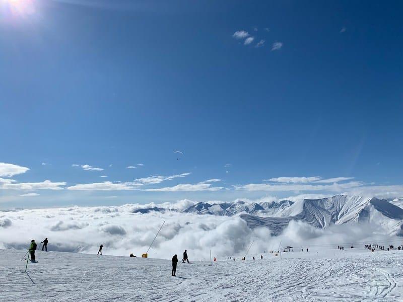 Skiing in Gudauri Georgia - Skiing guide to Georgia