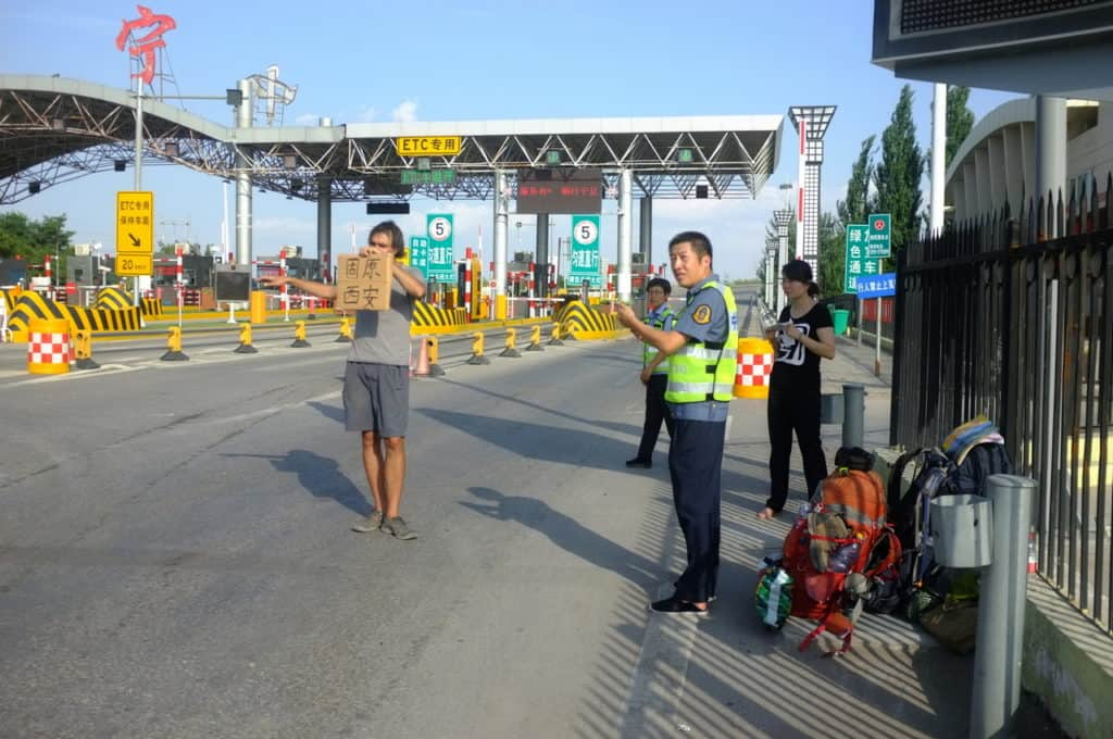 Hitchhiking in China - Journal of Nomads - hitchhiking spots