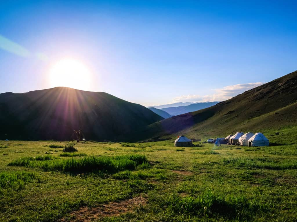 Adventure Trekking in Kyrgyzstan July 2019