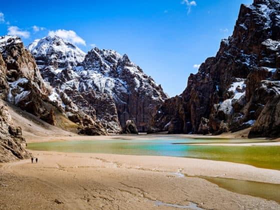 Kel Suu Lake - Adventure Tour Kyrgyzstan, Overland Expedition