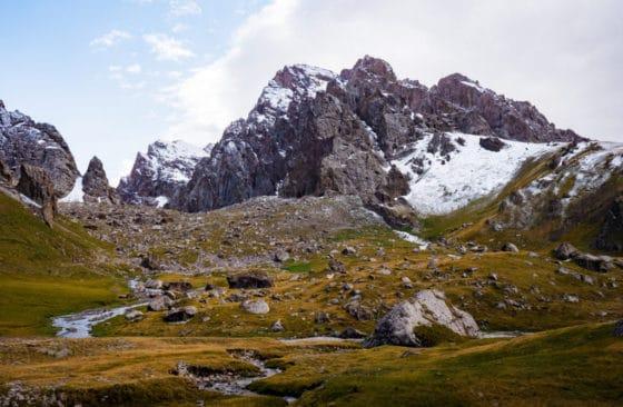 Kel Suu Lake Area - Adventure Tour Kyrgyzstan, Overland Expedition
