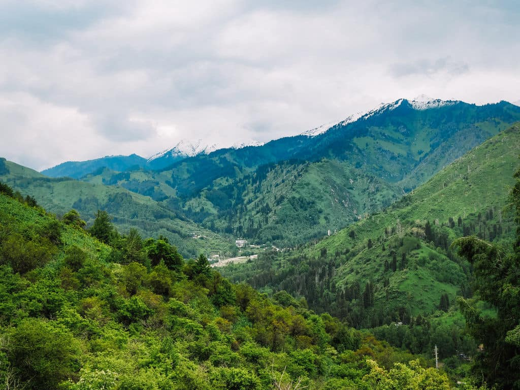 Hiking trails in Almaty mountains - Journal of Nomads