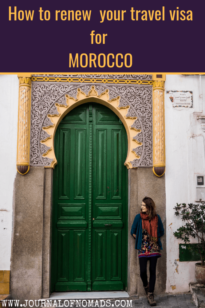 How to renew your travel visa for Morocco -Journal of Nomads