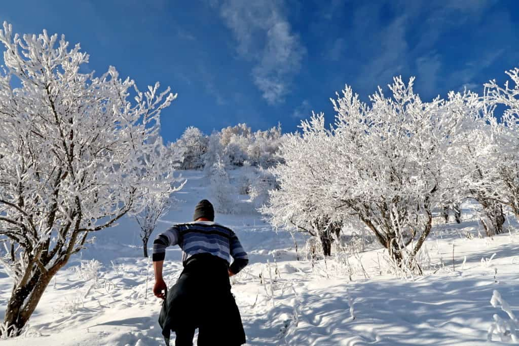 Hiking in Almaty - Hiking in winter in Almaty mountains - Journal of Nomads