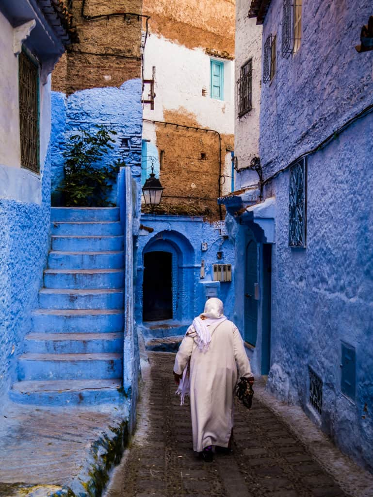 Things to do in and around Chefchaouen, the Blue City of Morocco - streets of Chefchaouen - Journal of Nomads