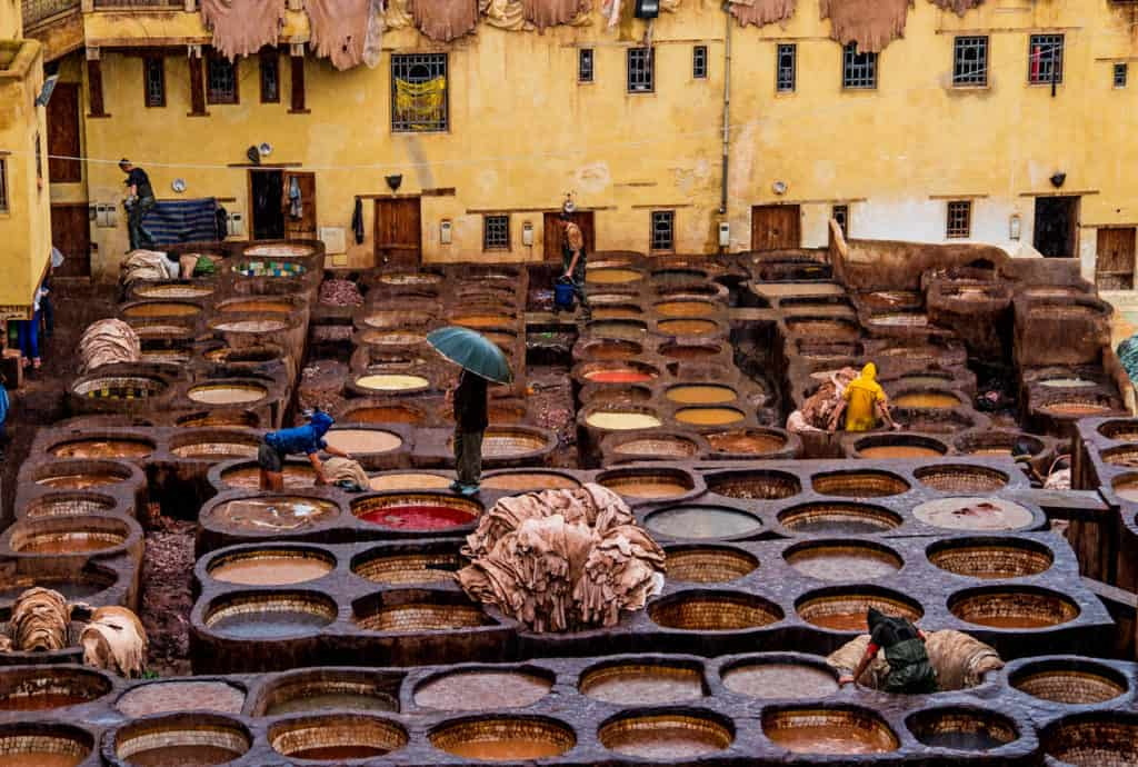 Backpacking in Morocco - Fez - Rainy days