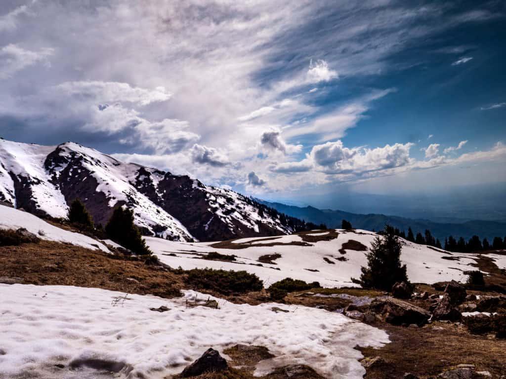 Hiking in Almaty - the best hikes near Almaty - hiking Peak Furmanova - Journal of Nomads