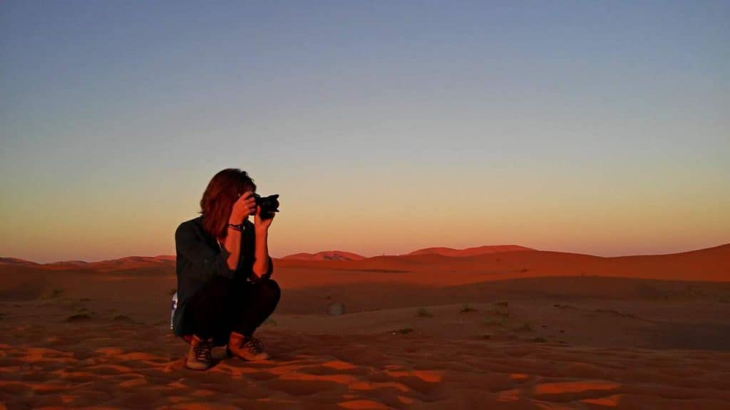 How to plan a desert trip to Merzouga and other fun things to do in the Sahara, Morocco. - Journal of Nomads - sunset in desert