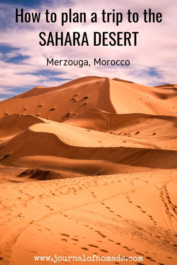How to plan a desert trip to Merzouga and other fun things to do in the Sahara desert of Morocco. - Journal of Nomads