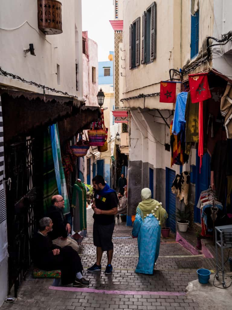 Things to do in Tangier - The Ultimate Guide to Tangier, Morocco -Old town of Tangier - Journal of Nomads