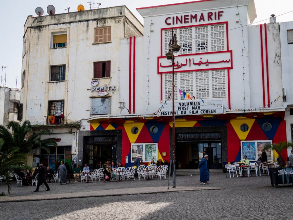 Cinema Riff Tangier - place 9 avril - Grand socco - Journal of Nomads