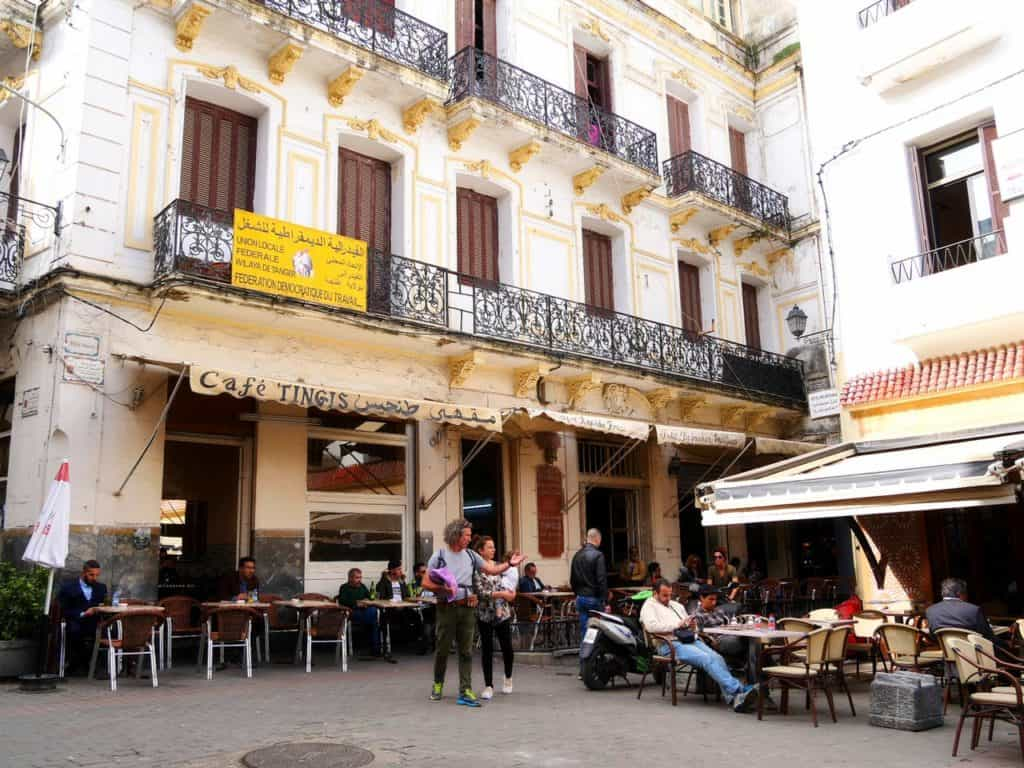 Cafe Tingis - petit socco - Tangier, Morocco - Things to do in Tangier - Journal of Nomads