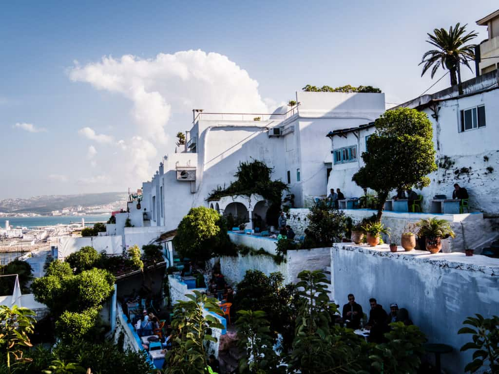 Things to do in Tangier - The Ultimate Guide to Tangier, Morocco -Cafe Hafa - Journal of Nomads