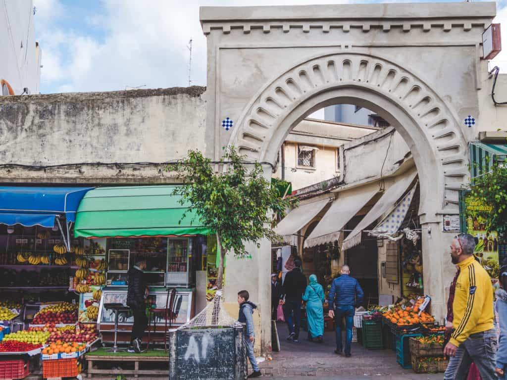 Place 9 avril Tangier - Grand socco - Journal of Nomads