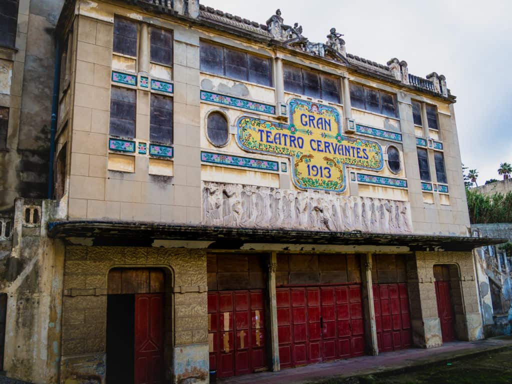 Gran Teatro Cervantes Tangier - City Guide to Tangier - Journal of Nomads