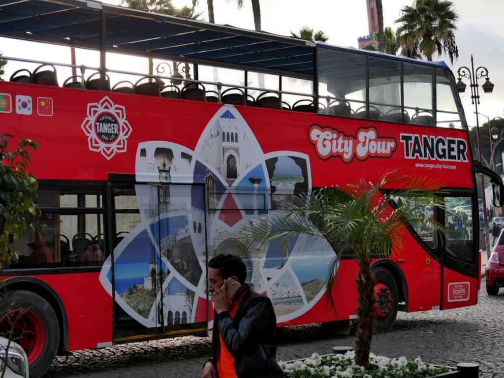 City Tours Tangier - Hop On Hop Off Bus - City Guide to Tangier - Journal of Nomads