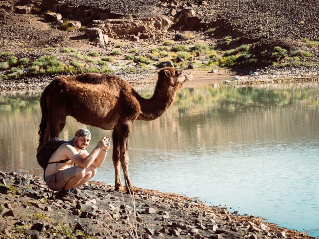 How to plan a desert trip to Merzouga and other fun things to do in the Sahara, Morocco. - Journal of Nomads - Dayet Srji - a seasonal salt lake west of Merzouga
