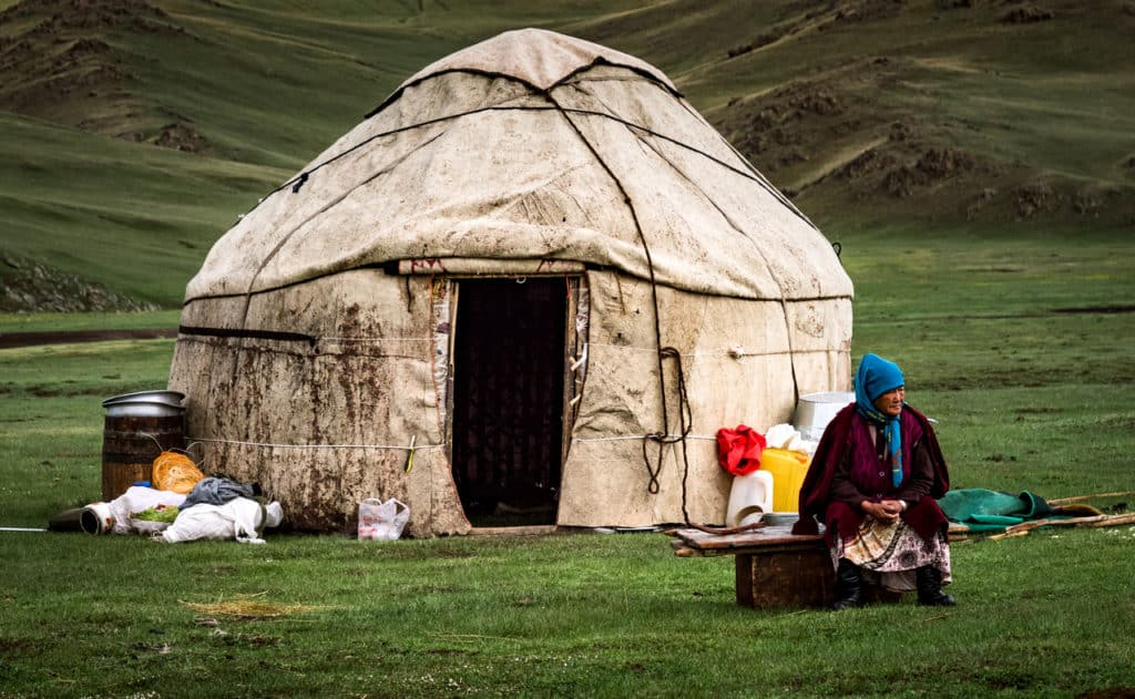 My favorite travel photos of 2018 - Journal of Nomads - Kyrgyzstan - yurt camp - nomads of Kyrgyzstan