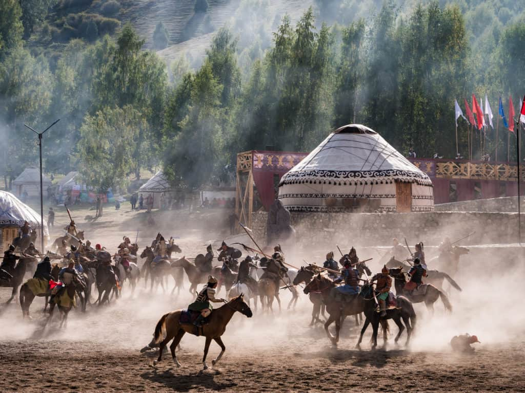My favorite travel photos of 2018 - Journal of Nomads - World Nomad Games 2018 - Openingsceremony