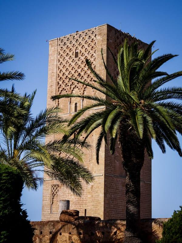 beautiful architecture - Hassan Tower - Rabat - journal of nomads
