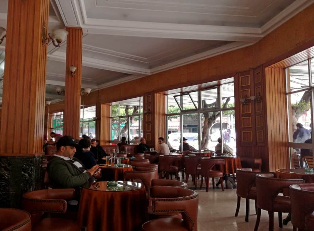Gran Cafe de Paris Tangier Morocco - City Guide to Tangier - Journal of Nomads
