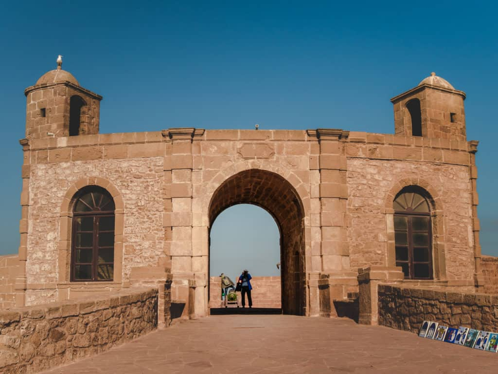 fortified ramparts of the old Medina in Essaouira - Things to see and do in Essaouira – The complete guide to Morocco's windy city - Journal of Nomads